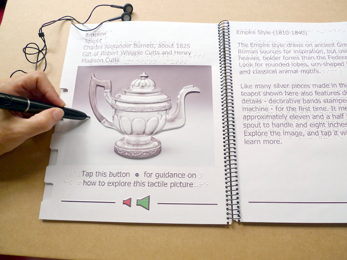 Empire teapot page of the book
